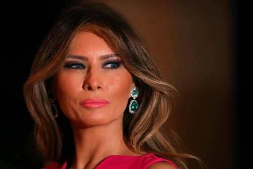 Đệ nhất phu nhân Mỹ Melania Trump. (Ảnh:Reuters)