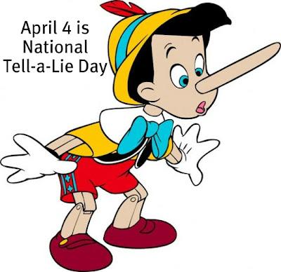 Ngày 1/4 mọi người thường dành cho nhau những lời nói dối vô hại. (Ảnh minh họa: Internet)