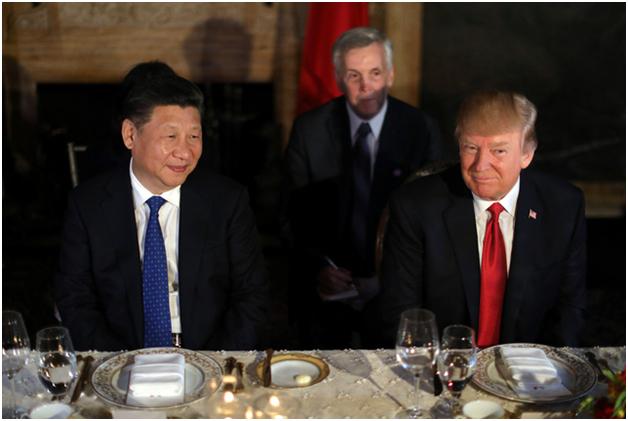Cuộc gặp tại Mar-a-Lago là cuộc tiếp xúc đầu tiên giữa hai nhà lãnh đạo Mỹ và Trung Quốc từ sau khi Tổng thống Trump đắc cử. Chuyến thăm tới Mỹ lần này của Chủ tịch Tập Cận Bình dự kiến sẽ kéo dài 2 ngày. (Ảnh: Reuters)