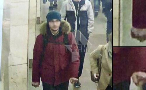 Hình ảnh nghi phạm vụ đánh bom.