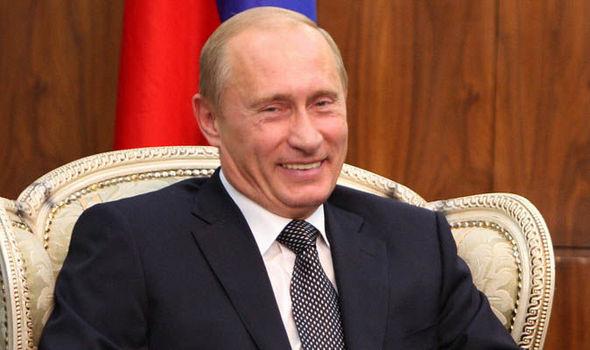Tổng thống Nga Vladimir Putin. (Ảnh: Daily Express)