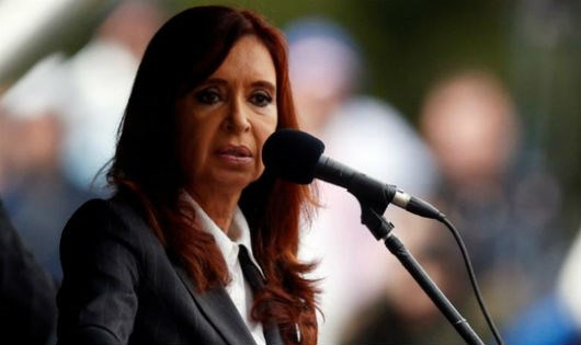 Cựu Tổng thống Cristina Fernandez.