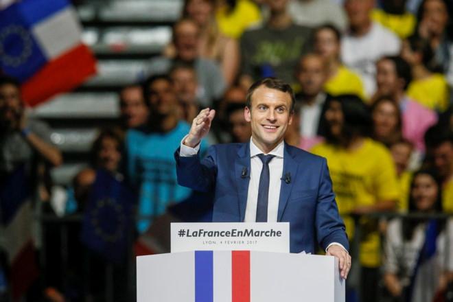 Ông Emmanuel Macron trở thành tổng thống trẻ nhất trong lịch sử nước Pháp. (Ảnh: Reuters)