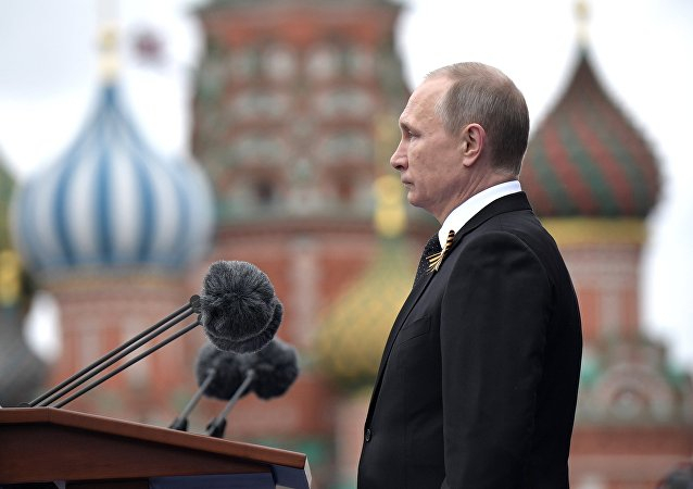 Phát biểu tại Quảng trường Đỏ, Tổng thống Nga Vladimir Putin chiến thắng của Liên Xô trước Đức Quốc xã sẽ luôn là một phần trong lịch sử nhân loại và không thể bị quên lãng.