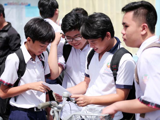 Kỳ thi vào lớp 10 TP HCM vừa diễn ra hôm 2 và 3/6 vừa qua. (ảnh Thanh Niên)