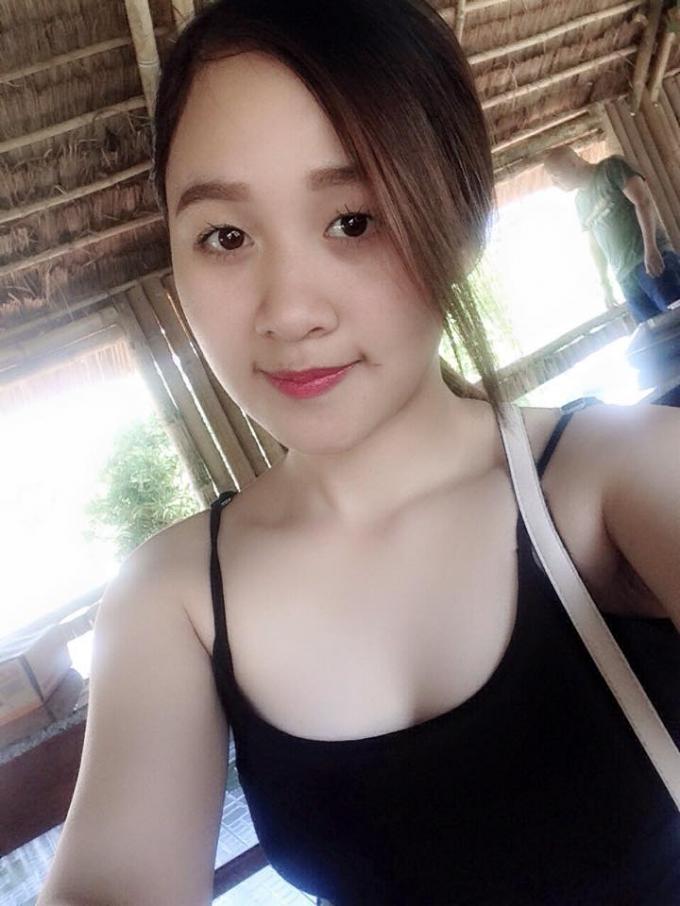 Cô gái có vẻ đẹp tươi sáng