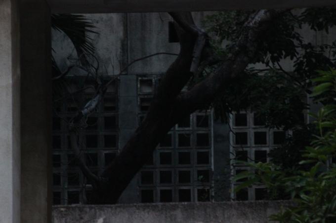 Một trong những góc trong tòa nhà(Ảnh: Văn Đại)
