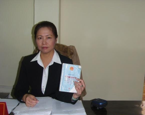 Luật sư Phan Thị Hương Thủy-GĐ Công ty Luật TNHH Hoàng Long nói về sự việc.