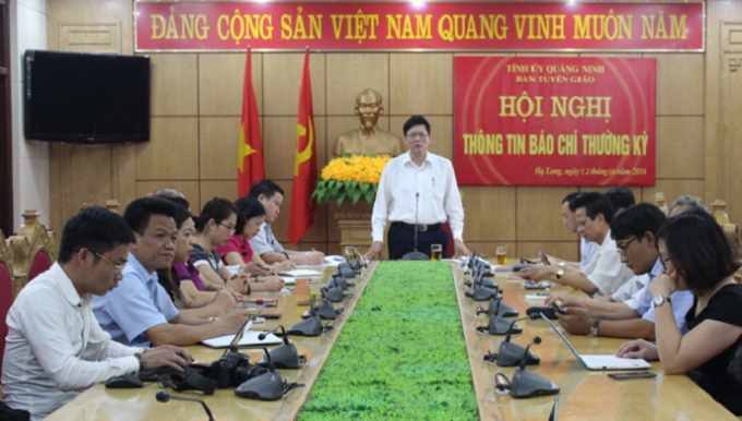 Hội nghi có sự tham gia của nhiều cơ quan báo chí và lãnh đạo Công ty CP Tập đoàn Hồng Hà.