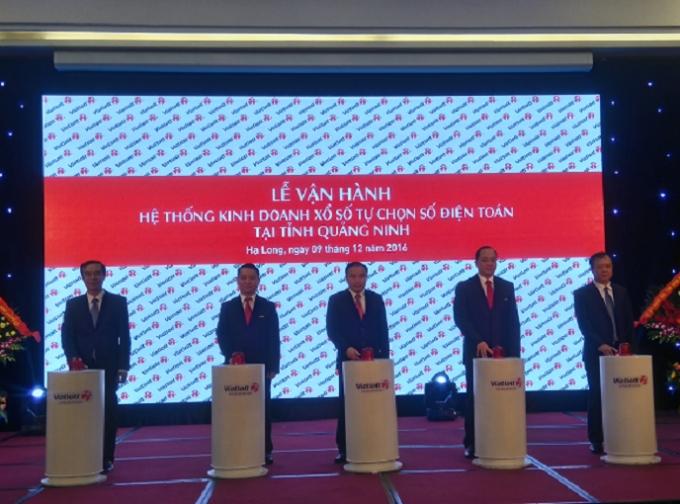 Xố sổ Vietlott chính thức được vận hành tại Quảng Ninh.