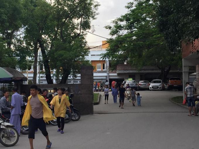 Bệnh viện Việt Nam - Thụy Điển Uông Bí, nơi xảy ra vụ việc.