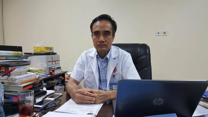 Ông Trần Viết Tiệp, Giám đốc Bệnh viện Việt Nam - Thụy Điển Uông Bí nói về sự việc.