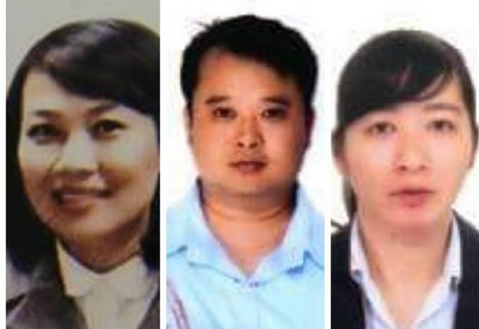 Ba nghi phạm bị bắt giữ khi đang lẩn trốn tại TP HCM.