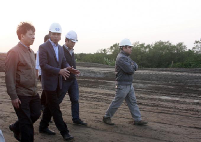 Lãnh đạo UBND tỉnh Quảng Ninh chỉ đạo thực hiện dự án đúng tiến độ, sớm đưa vào sử dụng.