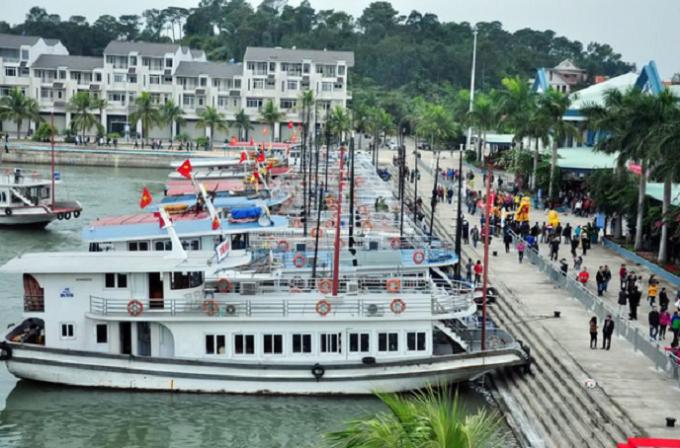 Cảng tàu du lịch quốc tế Tuần Châu, nơi xảy ra sự việc (ảnh minh họa).
