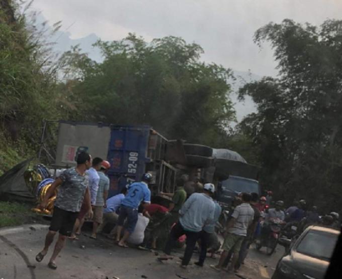 Vụ tai nạn khiến ít nhất một người thiệt mạng.