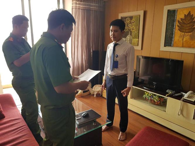 Nghi can Nguyễn Minh QuangẢNH: CTV.