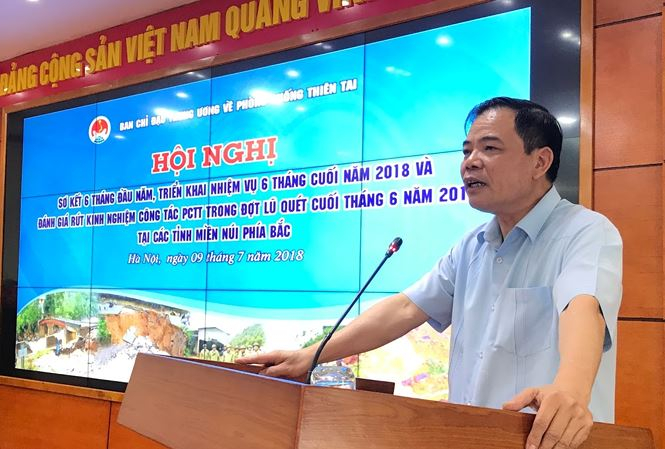 Bộ trưởng NN&PTNT Nguyên Xuân Cường