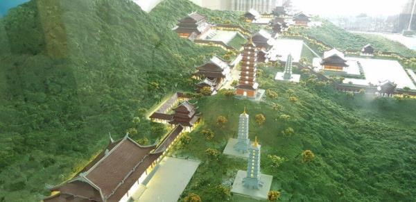 Quần thể kiến trúc chùa Tam Chúc - nơi diễn ra Đại lễ Vesak Liên hợp quốc năm 2019