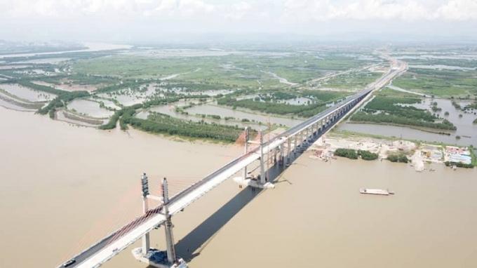 Cao tốc Hạ Long - Hải Phòng chính thức được thông xe vào ngày 1/9 tới đây.