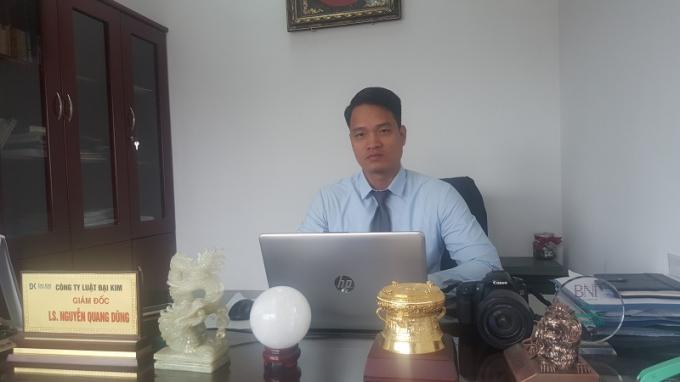 Luật sư Nguyễn Quang Dũng, người đại diện hợp pháp cho các hộ dân đưa ra quan điểm bức xúc về việc cuộc đối thoại bị hủy bỏ với những lý do không thuyết phục.