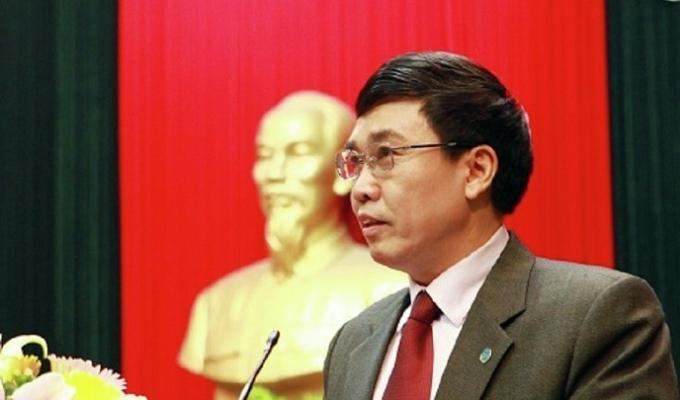 Ông Lê Bạch Hồng - nguyên Tổng giám đốc BHXH VN bị lực lượng chức năng bắt giữ hôm 9/11 vừa qua.
