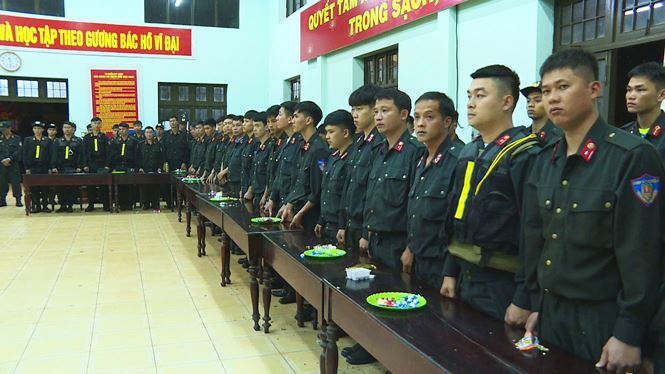 Các cánh quân nhận nhiệm vụ