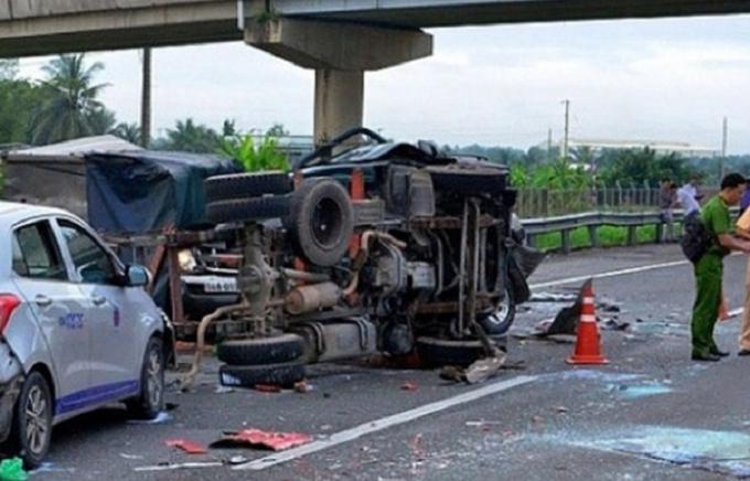 Tai nạn giao thông trong dịp Tết nguyên đán khiến cho 161 người thiệt mạng (ảnh minh họa).