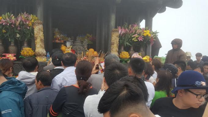 Chùa Đồng, nơi thu hút dòng người về với núi thiêng Yên Tử.