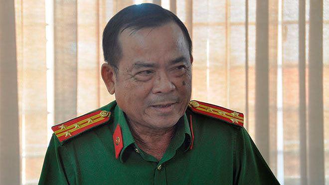 Đại tá Phạm Hữu Châu, phó giám đốc Công an tỉnh Long An. Ảnh Văn Minh