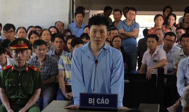 Bị cáo Chu Ngọc Hải tại tòa. Ảnh: Minh Lộc.