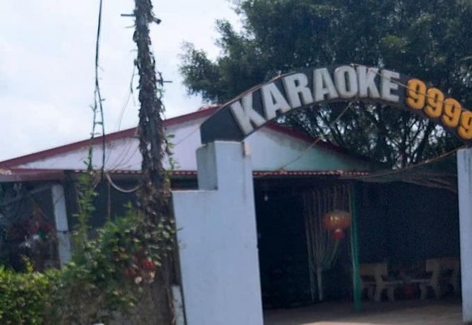 Quán karaoke nơi xảy ra sự việc.