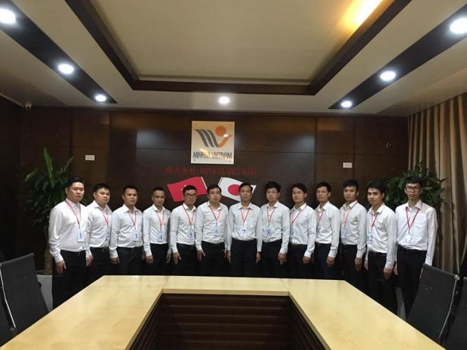 Để có thể sang Nhật Bản làm việc, các ứng viên phải vượt qua một số khâu đánh giá, thi tuyển của MIYATA Việt Nam và phía Nhật Bản.