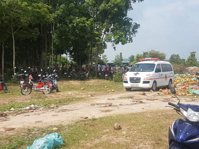 Nạn nhân bước đầu được xác định tên Hải (quê tỉnh Bình Thuận).
