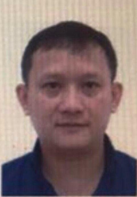 Bị can Bùi Quang Huy-Tổng giám đốc Công ty Nhật Cường Mobile.