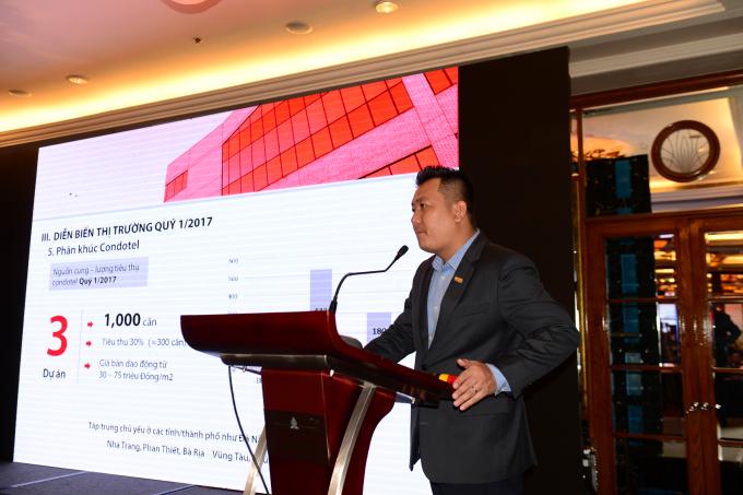 Ông Phạm Lân- Tổng GĐ DKRA phát biểu tại hội thảo.