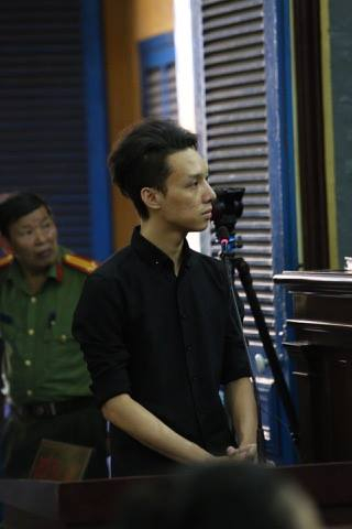 Nhân chứng Lữ Minh Nghĩa tại phiên tòa ngày 26/6.