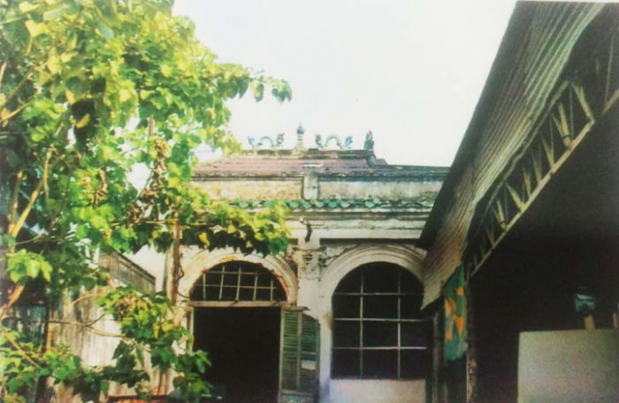 Ngôi từ đường của dòng họ Đỗ Hữu tại 611C Điện Biên Phủ, phường 1, quận 3, TP HCM.