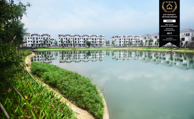 Một gócLakeview City.