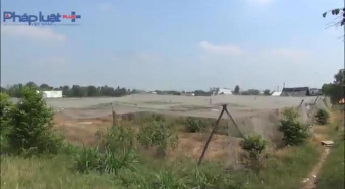 Nếu cống hộp được xây tại hẻm 702, hàng ngàn m2 đất này sẽ có