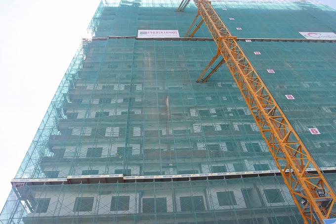Dự án Diamond Lotus Riverside- căn hộ xanh chính phẩm theo tiêu chuẩn Hoa Kỳ (Leed) lần đầu tiên tại Việt Nam, chuẩn bị giao nhà cuối năm 2017.