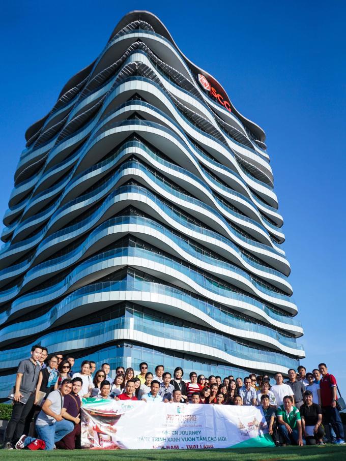Thăm tòa nhà SCG - tiêu chuẩn LEED (cấp độ Platinum) cao nhất của Mỹ.