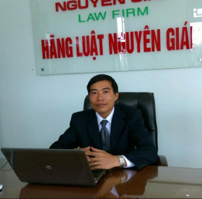 Thạc sĩ, Luật sư Thái Văn Chung - Giám đốc hãng luật Nguyên Giáp.