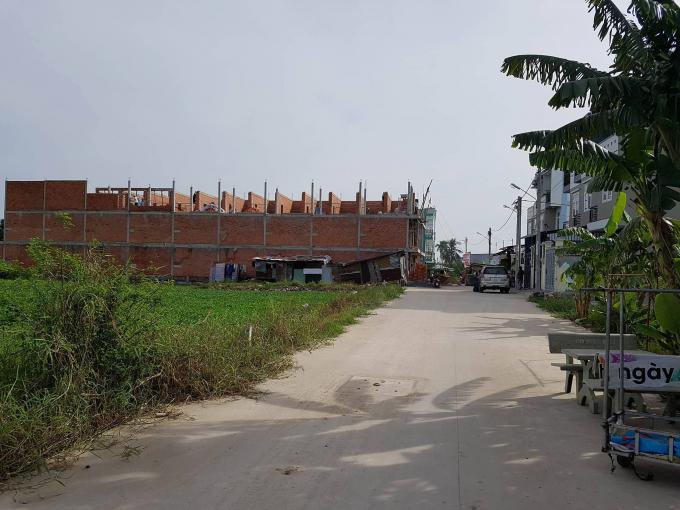 Hàng loạt công trình xây dựng trên địa bàn phường Thạnh Xuân lộ rõ dấu hiệu vi phạm.