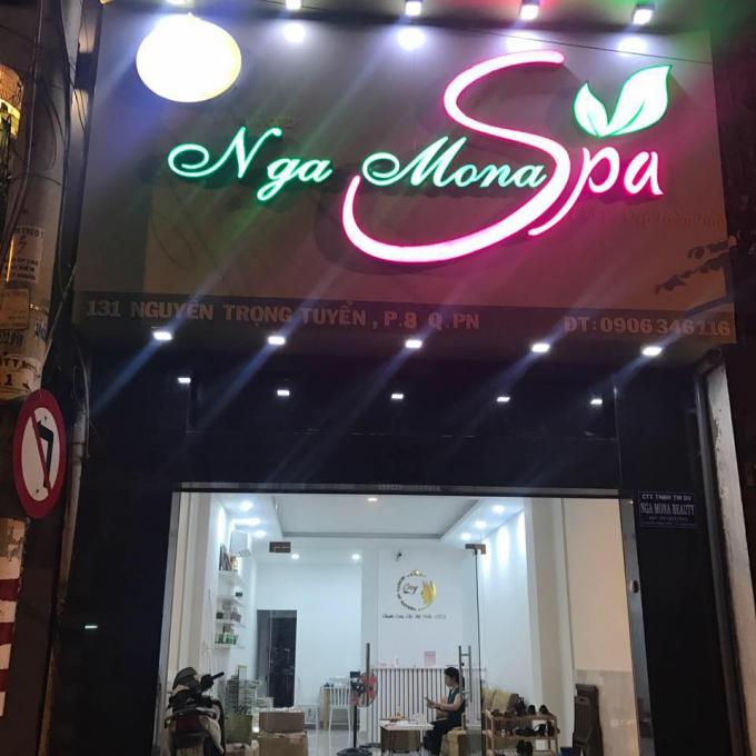Dịch vụ lột da không giấy phép, bán mỹ phẩm không nguồn gốc quy mô lớn đang diễn ra tại cơ sở Nga Mona Spa.