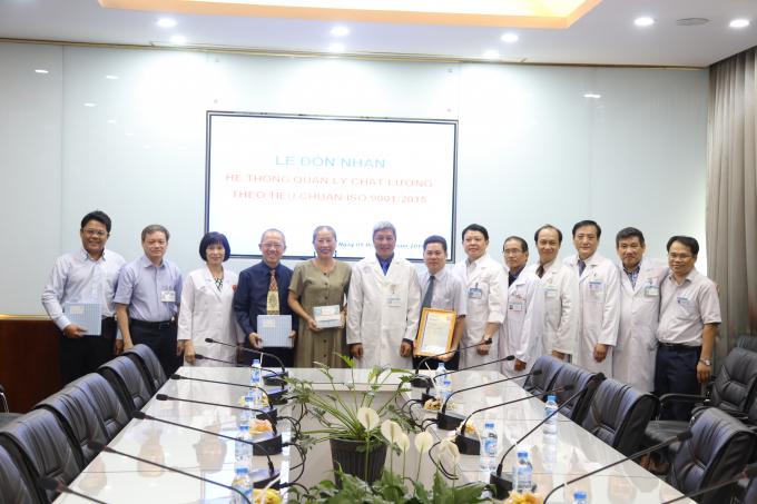 9 đơn vị đạt chất lượng ISO 9001: 2015, bệnh viện Chợ Rẫy sẽ tiếp tục mở rộng và phát triển tiêu chuẩn ISO 9001 cho các Khoa, Phòng khác.