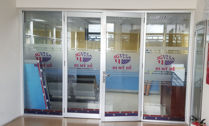 Văn phòng Công ty SG VISA tại Tòa nhà HDTC, số 36 Bùi Thị Xuân, phường Bến Thành, Q.1,