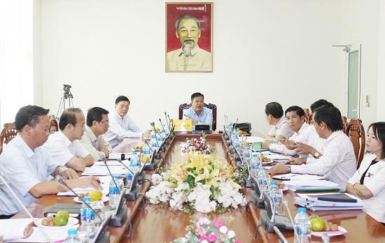 Chủ tịch tỉnh Bà Rịa - Vũng Tàu đồng ý đề xuất tăng chi phí bồi thường, hỗ trợ Dự án công viên Bà Rịa. (Ảnh: Cổng thông tin tỉnh BR - VT)