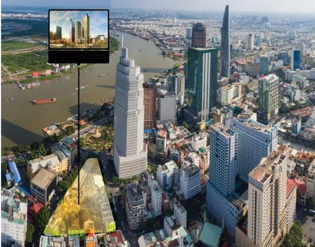 Khu đất vàng 2-4-6 Hai Bà Trưng được cho là đã về tay nhóm doanh nhân gốc Hoa.(nguồn ảnh: vtc.vn)
