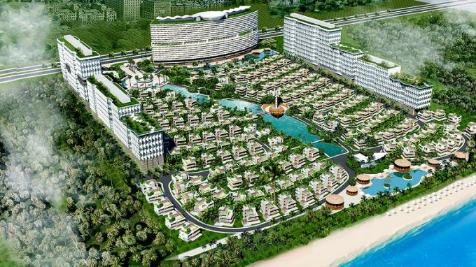 Phối cảnh dự án Vũng Tàu Regency được quảng cáo